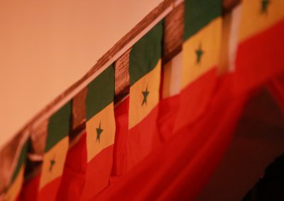 Senegalese flags